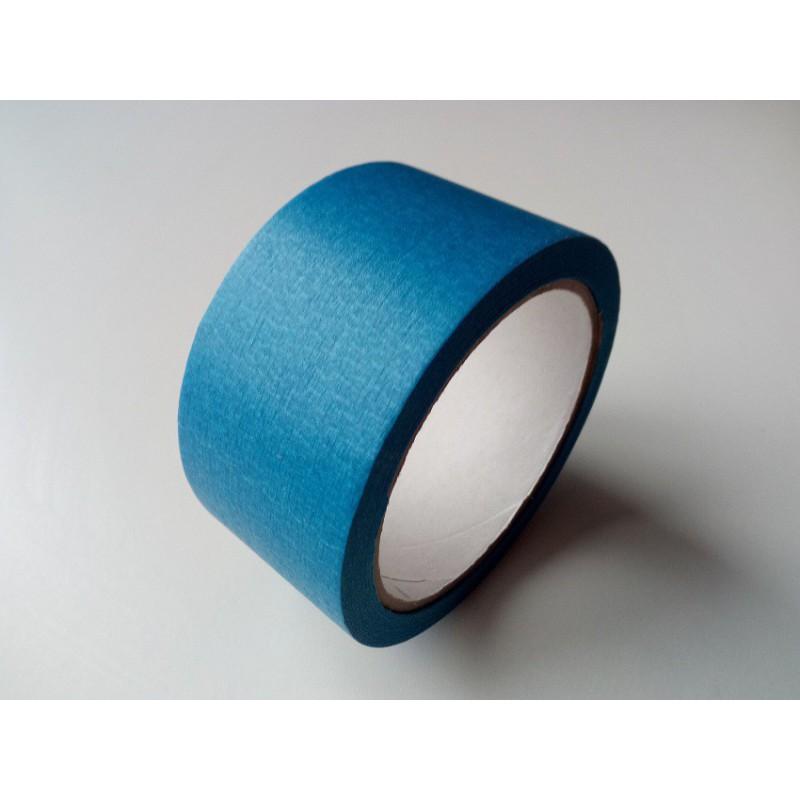 ruban de masquage bleu ext rieur papier 48 mm x 25 m 80 c pour peintures lasures vernis cr pis. Black Bedroom Furniture Sets. Home Design Ideas