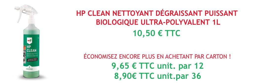 HP Clean nettoyant dégraissant puissant biologique ultra-polyvalent 1l