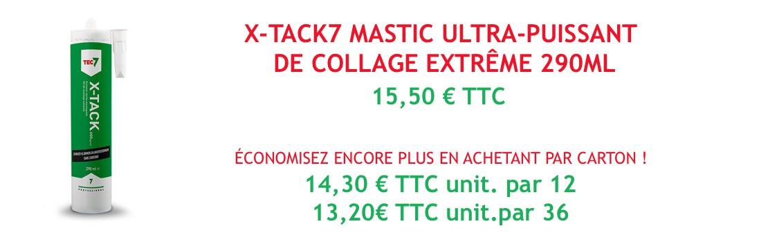 X-Tack7 mastic ultra-puissant de collage extrême 290ml
